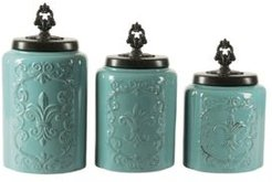 Antique Canister, Set of 3