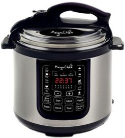 8 Quart Digital Pressure Cooker with 13 Pre-set Multi Function Features