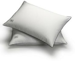 White Down Stomach Sleeper Soft Pillow Certified Rds, Set of 2 - King
