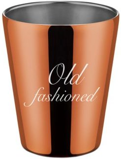 by Cambridge Stainless Steel Copper Double Old Fashioned Cup