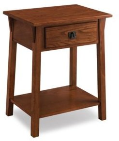 Favorite Finds Mission Nightstand with Drawer