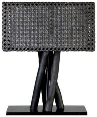 East At Main's Eleftheria Rattan Table Lamp