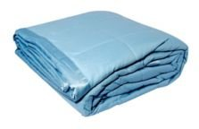 Solid Colored Microfiber Down Alternative Full/Queen Blanket Bedding
