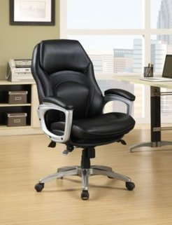 Wellness Executive Leather Office Chair