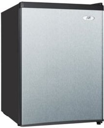 Spt 2.4 cubic feet Compact Refrigerator with Energy Star - Stainless Steel