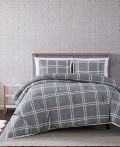 Leon Plaid King Comforter Set Bedding