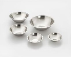 Cookpro 5 Piece Durable Stainless Steel Mixing Bowl Set