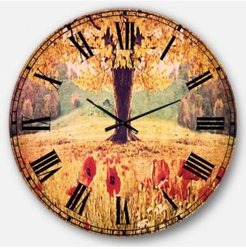 Photography Oversized Round Metal Wall Clock