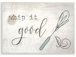 "Whip It Good Whisk Wall Plaque Art, 10"" x 15"""