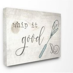 """Whip It Good Whisk Canvas Wall Art, 24"""" x 30"""""""