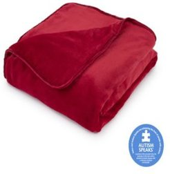"""The Vellux Heavy Weight 12lb 54"""" x 72"""" Weighted Blanket Bedding"""