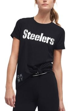 Dkny Women's Pittsburgh Steelers Players T-Shirt