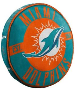 Miami Dolphins 15inch Cloud Pillow