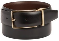 Reversible Faux-Leather Belt, Created for Macy's