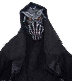 ZagOne Size Studios Nightmare On North Ave Latex Adult Costume Mask One Size