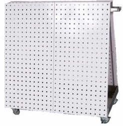 Locboard Anodized Frame Tool Cart with Tray