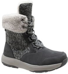 Microfleece Lace Winter Boot Women's Shoes