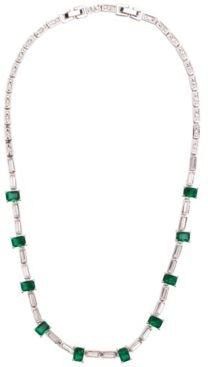 Rhodium Plated Columbian Necklace