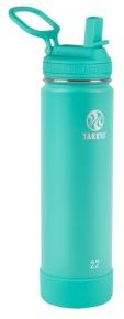 Actives Stainless Steel 22-Oz. Insulated Water Bottle with Straw Lid