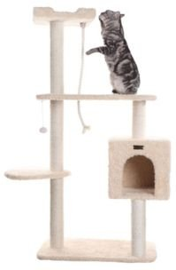 Cat Playhouse, Scratch Cat Furniture