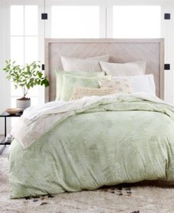 Closeout! Lucky Brand Paradise Cotton 230-Thread Count 3-Pc. King Duvet Set, Created for Macy's Bedding