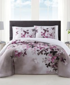 Vince Camuto Lissara 3 Piece Duvet Set, King Bedding