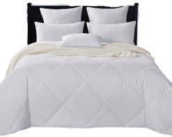 Lightweight 50/50 White Goose Feather & Down Comforter, King Size