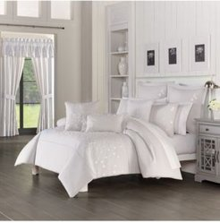 Cherry Blossom Comforter 3 piece Set, Full/Queen Bedding