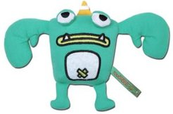 Cartoon Crabby Tooth Monster Plush Dog Toy