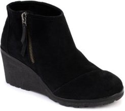 Avery Wedge Booties Women's Shoes