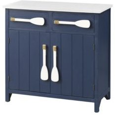 Two Drawer Two Door Cabinet