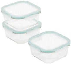 Purely Better Glass 6-Pc. Rectangular Food Storage Containers, 20-Oz.