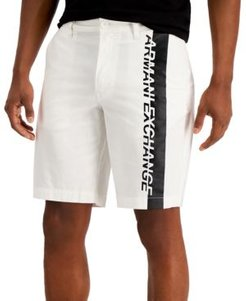 Colorblock Logo Stretch Twill Bermuda Shorts, Created for Macy's