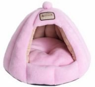 Gumdrop Cartoon Pet Bed for Cats and Small Dogs