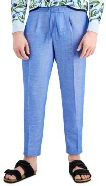 Inc Men's Slim-Fit Chambray Tapered Pants, Created for Macy's
