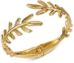 Gold-Tone Leaf Cuff Bracelet, Created for Macy's