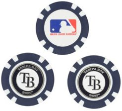 Tampa Bay Rays 3-Pack Poker Chip Golf Markers