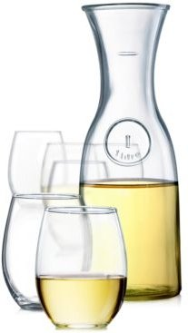 Stemless Wine 7-Pc. Glassware Set