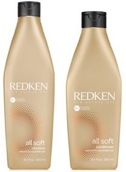 All Soft Shampoo, 10.1-oz. & Conditioner, 8.5-oz. (Two Items), from Purebeauty Salon & Spa