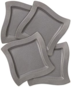 New Wave Stone Set of 4 Dinner Plates