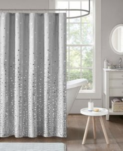 """Zoey 72"""" x 72"""" Printed Shower Curtain Bedding"""