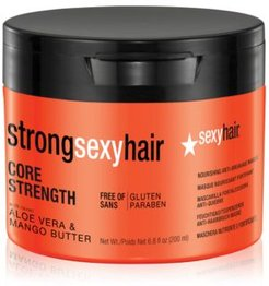 Strong Sexy Hair Core Strength Nourishing Anti-Breakage Masque, 6.8-oz, from Purebeauty Salon & Spa