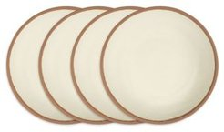 Potter Terracotta Melaboo 4-Pc. Dinner Plate Set