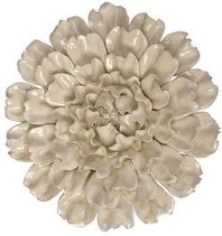 Isabella Large Ceramic Wall Decor Flower