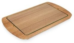 Toscana by Picnic Time Billboard Glass Top Serving Tray