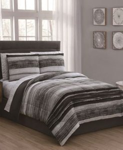 Laken 7-Pc King Bed in a Bag Bedding