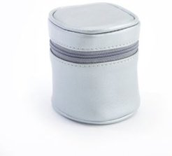 Travel Adapter in Leather Carrying Case