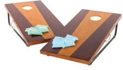 2' x 4' Bean Bag Toss Game Includes 2 Premium All-Wood Bean Bag Toss Boards and 8 All-Weather Canvas Bean Bags