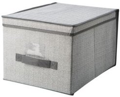 Large Storage Box in Gray