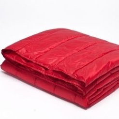 Puff Packable Down Alternative Indoor/Outdoor Water Resistant Blanket with Extra Strong Nylon Cover Bedding